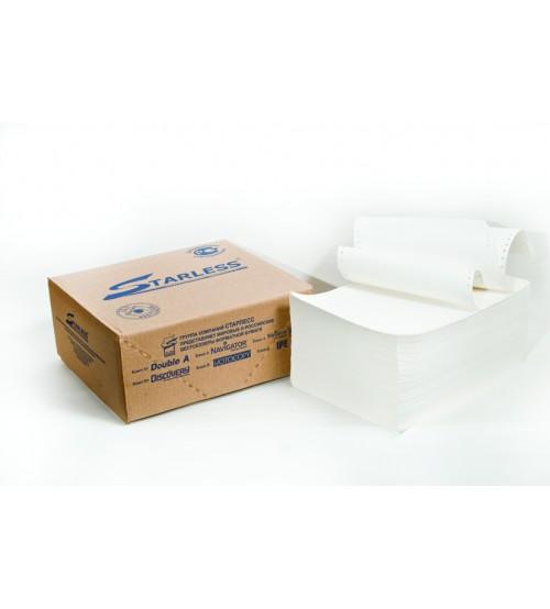 420x12 Бумага в стопе STARLESS 80 г/м2 с неотрывной перфорацией